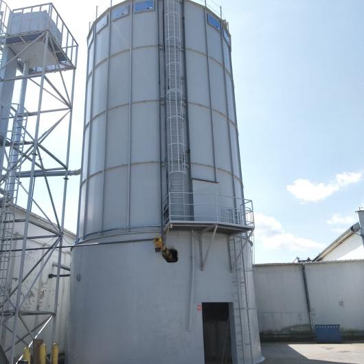 Zabezpieczenie antykorozyjne zbiornika stalowego