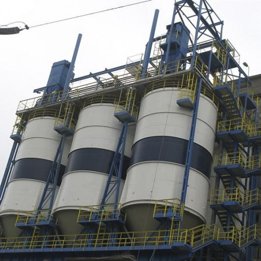 Zabezpieczenie antykorozyjne zbiorników pyłu dymicowego