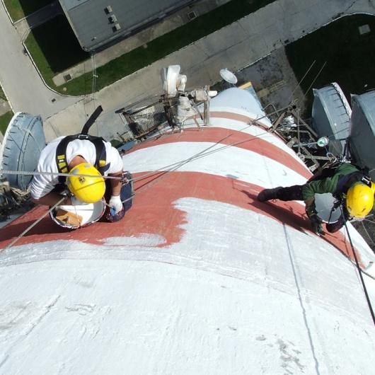 Referencje dotyczące prac na kominach stalowych, żelbetowych i ceglanych.