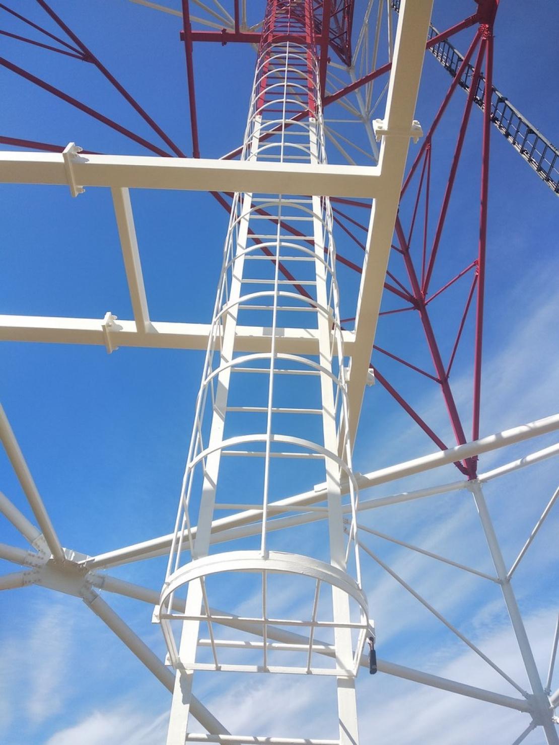 Malowanie wieży stalowej
