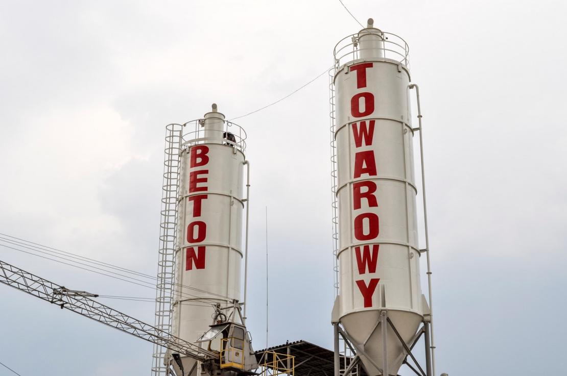 Zabezpieczenie antykorozyjne silosów na cement